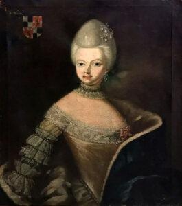 Die Erbauerin von Schloss Colmdorf. (Porträt: Kunstsammlung Schloss Colmdorf)